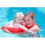 10330 Надувной круг для обучения плавания Желтый Swimtrainer
