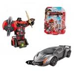 """Купить 9858 Трансформер-машина Воин (свет, звук) Красный """"Мир роботов"""" Play Smart"""
