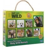 Купить 9916450 Настольная игра Детеныши диких животных Nat Geo Wild Uncle Milton
