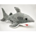 Купить *00020 Мягкая игрушка Акула Серая 46 см Абвгдейка