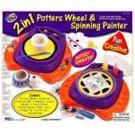 Купить *80862 Гончарный круг и прядильное рисование Galey Toys