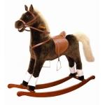 99532 Большая лошадка-качалка со звуком и с движением