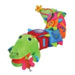 Купить 990568 Мягкий Развивающий центр Крокодил 119 см K's Kids