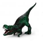 Купить *PE0068  Тиранозавр Рекс  зеленый 42 см, из каучука с мягкой набивкой