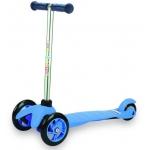 Купить 993856 Самокат трехколесный Moby Kids голубой