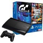 Купить 99811 Игровая приставка PS3 Sony 500GB + Gran Turismo 6 + GTA V (CECH-4208C)