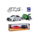 Купить 991132 Машина концепт-кар + скутер на прицепе