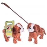 Купить 995236PD Пушистые друзья. Танцующая мягкая собачка на поводке ВВ-Тойз