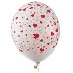 """Купить 99030 Надувные воздушные шарики Сердечки """"День святого Валентина"""" 50 шт Everts"""