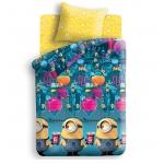 """Купить *99003 Детский комплект постельного белья """"Миньоны"""" Гадкий Я"""