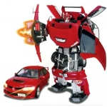 Купить 51010 Игрушка Робот-трансформер Машина Mitsubishi Lancer Evolution IX 40 см Happy Well