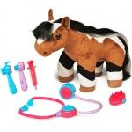 990268 Интерактивная игрушка Лошадка Хлоя с набором ветеринара Breyer