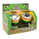 99097 Карибские Барабаны Finger Drums Idol Hands Bluw