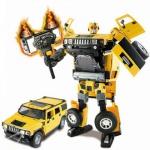 Купить 50120 Игрушка Робот-трансформер Машина Hummer H2 28 см Happy Well