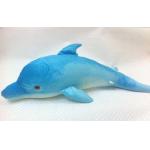 *SW-0049 Мягкая игрушка Голубой Дельфин 76 см