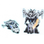 Купить 33040 Игрушка Робот-трансформер Космолет Солнечный воин 24 см Happy Well