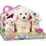 990951 Интерактивная игрушка Мама Собака Бонни на прогулке Vivid