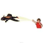 """*99669 Игрушка плюшевая """"Летающий Беззубик"""" (запускается и летит) Dragons Spin Master"""