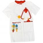 Купить 99764 Набор доктора: халат, колпак, стетоскоп, очки, шприц, градусник Лидер