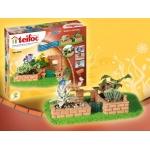 Купить TEI9010 Строительный набор из кирпичиков Сад Teifoc