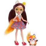 Купить DVH89 Кукла Фелисити Лис 15 см Enchantimals Mattel