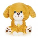 Купить 990019 Мягкая игрушка Щенок Петька со звуком 20 см Maxitoys
