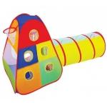 Купить 889-175B Детская палатка с трубой и корзиной для мяча в сумке ТМ