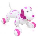 Купить 98902 Собака на радиоуправлении Далматинец Розовый Smart-Dog Happy Cow