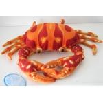 *SW-0206 Мягкая игрушка Краб оранжевый средний 40 см