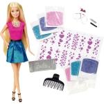 """Купить 990014 Игровой набор с куклой """"Блестящие волосы"""" Barbie"""
