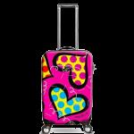 Купить 9912-22 Дорожный чемодан на колесиках Heys Britto Hearts Carnival 22''