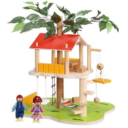 Balbi Дом для кукол Домик на дереве и 2 фигурки TT-060