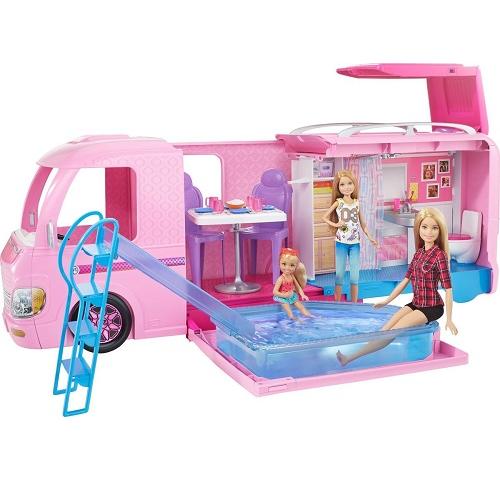 Barbie Волшебный раскладной фургон для куклы FBR34