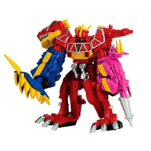 Боевой робот Пауэр Рейнджерс Мегазорд DX Power Rangers Samurai Dino Charge 43095
