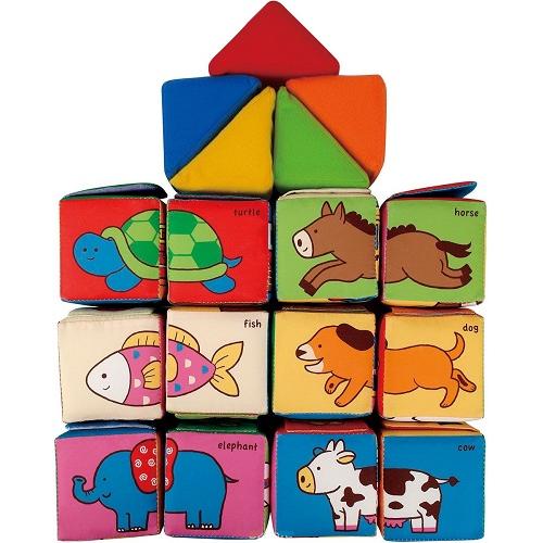K'S Kids Кубики мягкие Обучайка KA773