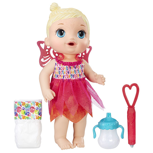 Кукла Baby Alive Малышка-фея Hasbro B9723