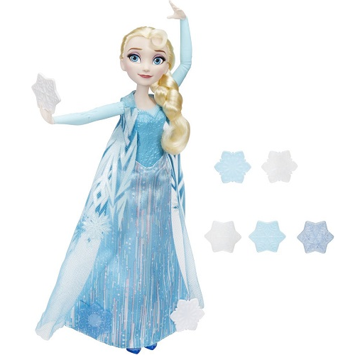 Кукла Эльза запускающая снежинки рукой Disney Frozen B9204