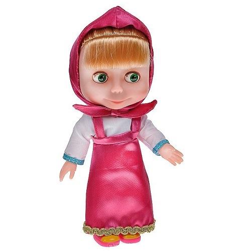 Кукла Маша 4 песенки Маша и Медведь Карапуз 83033