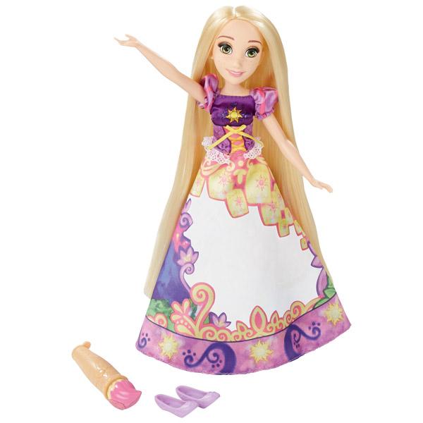 Кукла Принцесса Рапунцель в юбке с проявляющимся принтом Hasbro Disney Princess B5297