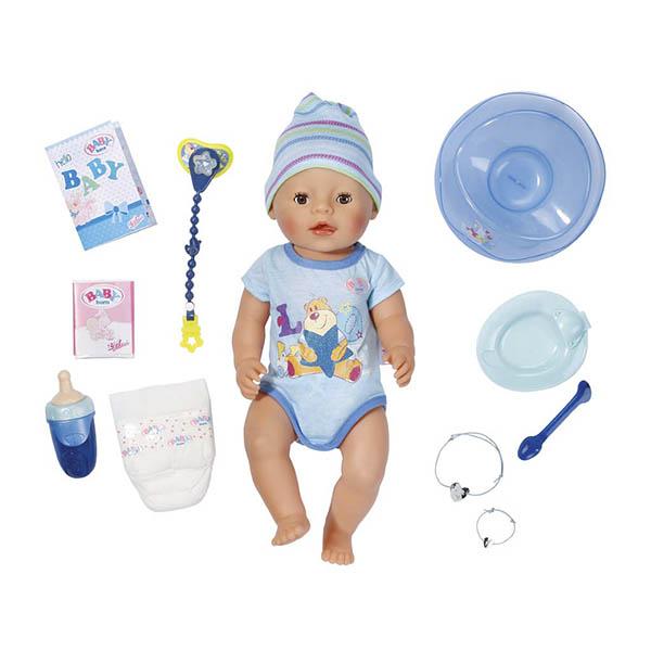 Кукла-мальчик Бэби Борнинтерактивная 43 см Baby born 822-012 Zapf Creation