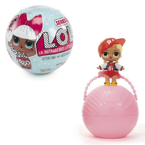 Кукла-сюрприз в шарике Lol