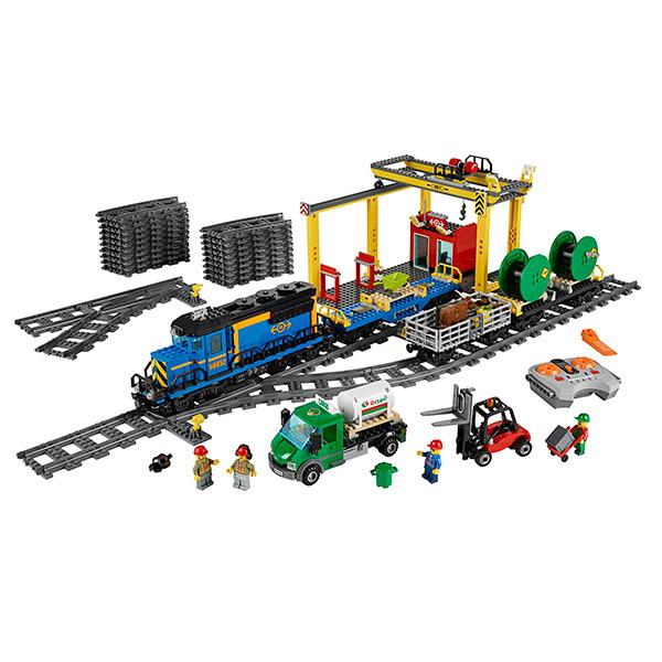 Лего Город Грузовой поезд Lego City 60052