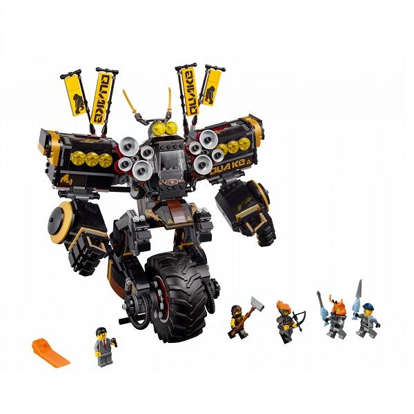 Лего Ниндзяго Робот Землетрясений 1202 детали Lego Ninjago 70632