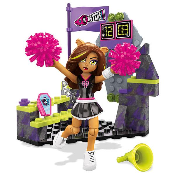 Мега Блокс Monster High Клодин Вульф Базовые игровые наборы Mattel Mega Bloks DLB78