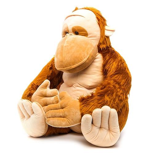 Мягкая игрушка Орангутанг Жорик 80 см СмолТойс