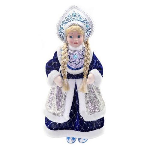 Новогодняя сказка Кукла Снегурочка 43 см под елку 972400