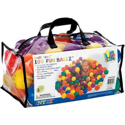 Шарики - мячики для сухого бассейна Intex