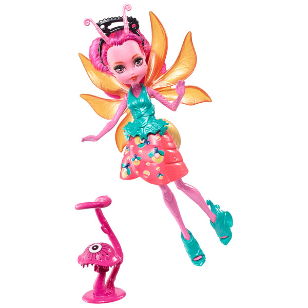 Цветочные мини-монстрики с питомцами Люмина Mattel Monster High FCV50