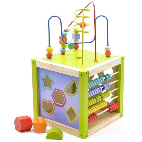 Универсальный куб Мир деревянных игрушек Д260
